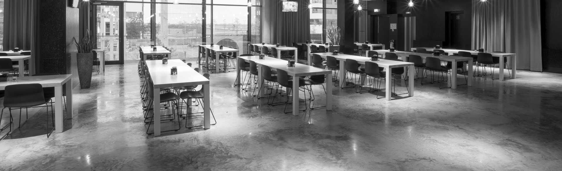 Knöller | Header Projektberichte Businesscampus Garching Restaurant